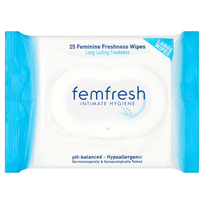 Femfresh Wipes 25s