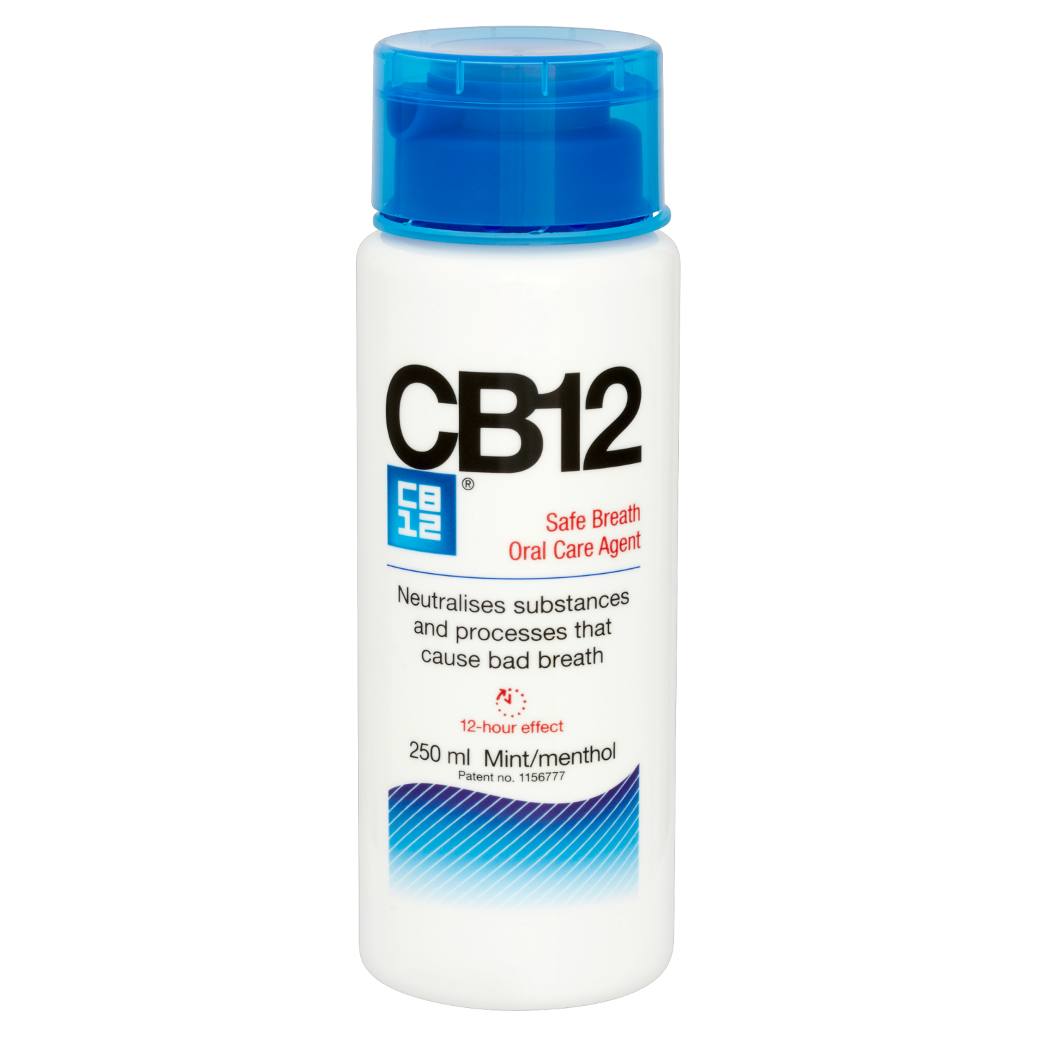 CB12 Safe Breath Oral Care Agent Mint/Menthol x 250ml