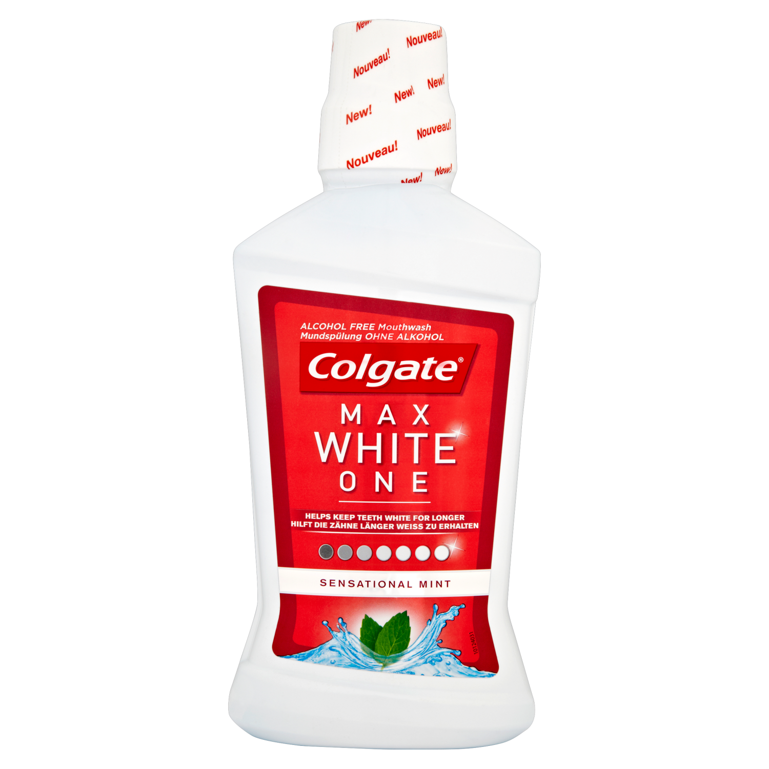 Colgate Mouthrinse Max White One