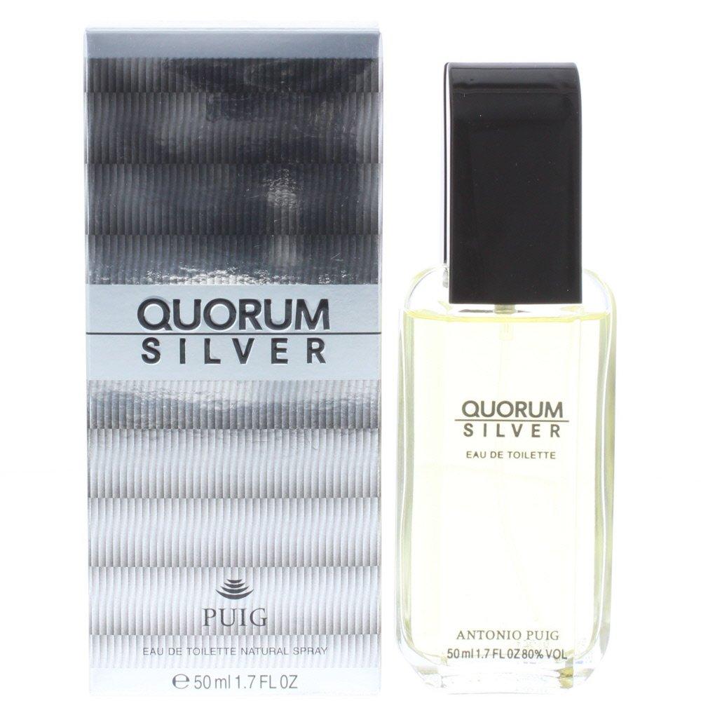 Quorum Silver Edt 50ml Spray