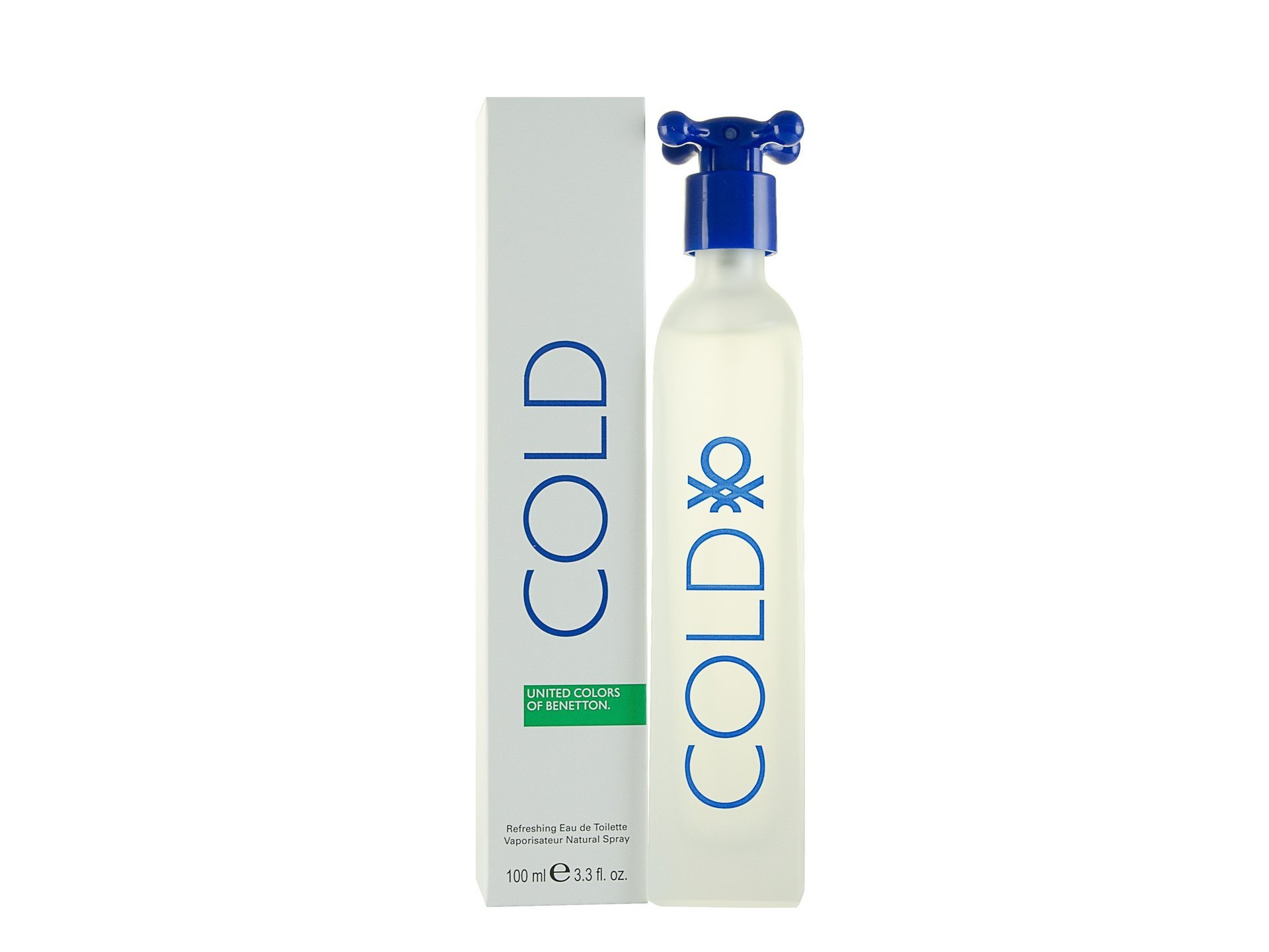 Benetton Cold Edt 100ml New Edition