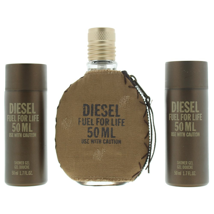 Diesel Fuel For Life M Eau de Toilette 50ml Shower Gel 50ml X 2