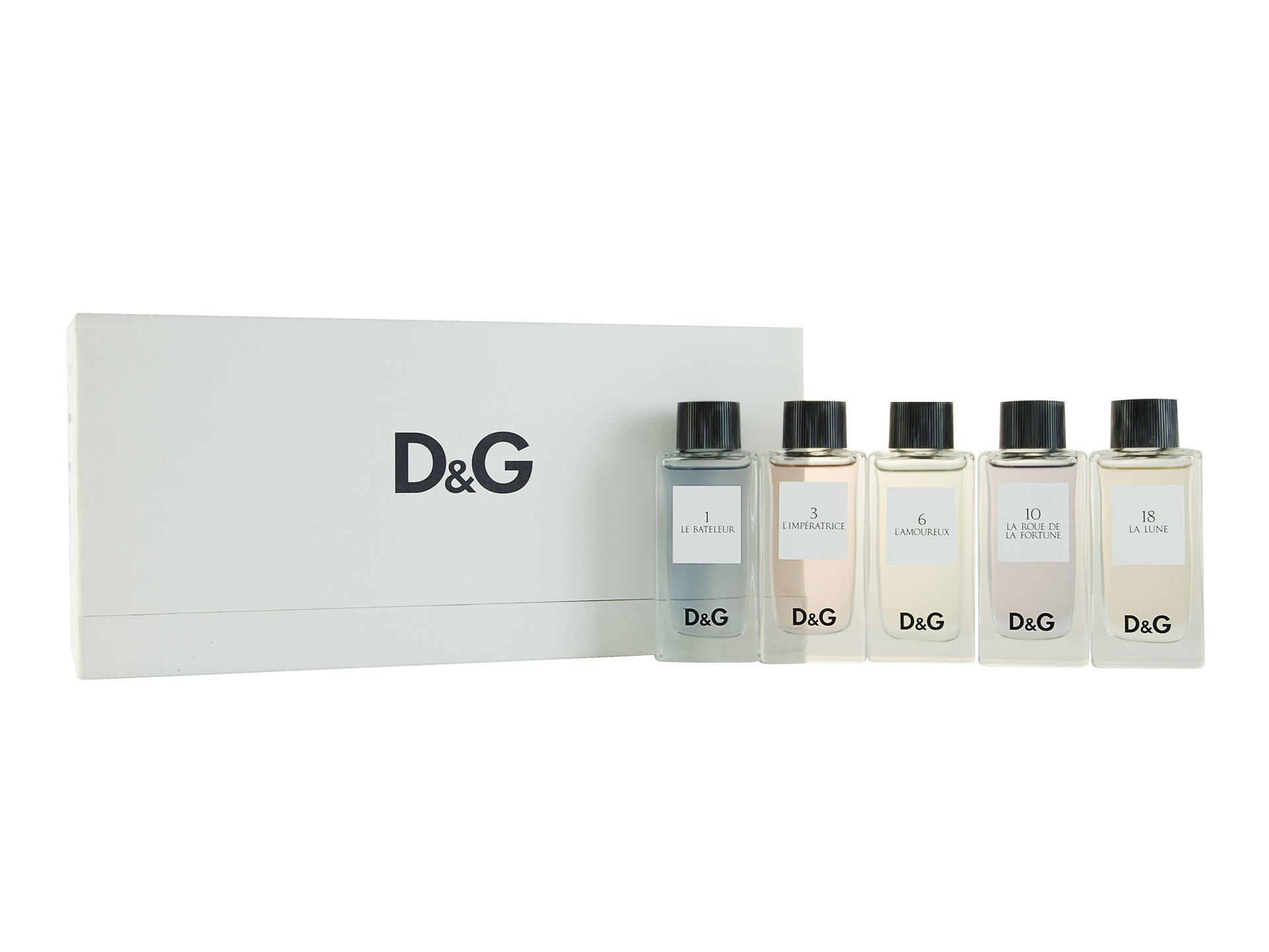 D&g The Collection Edt 5 X 20ml