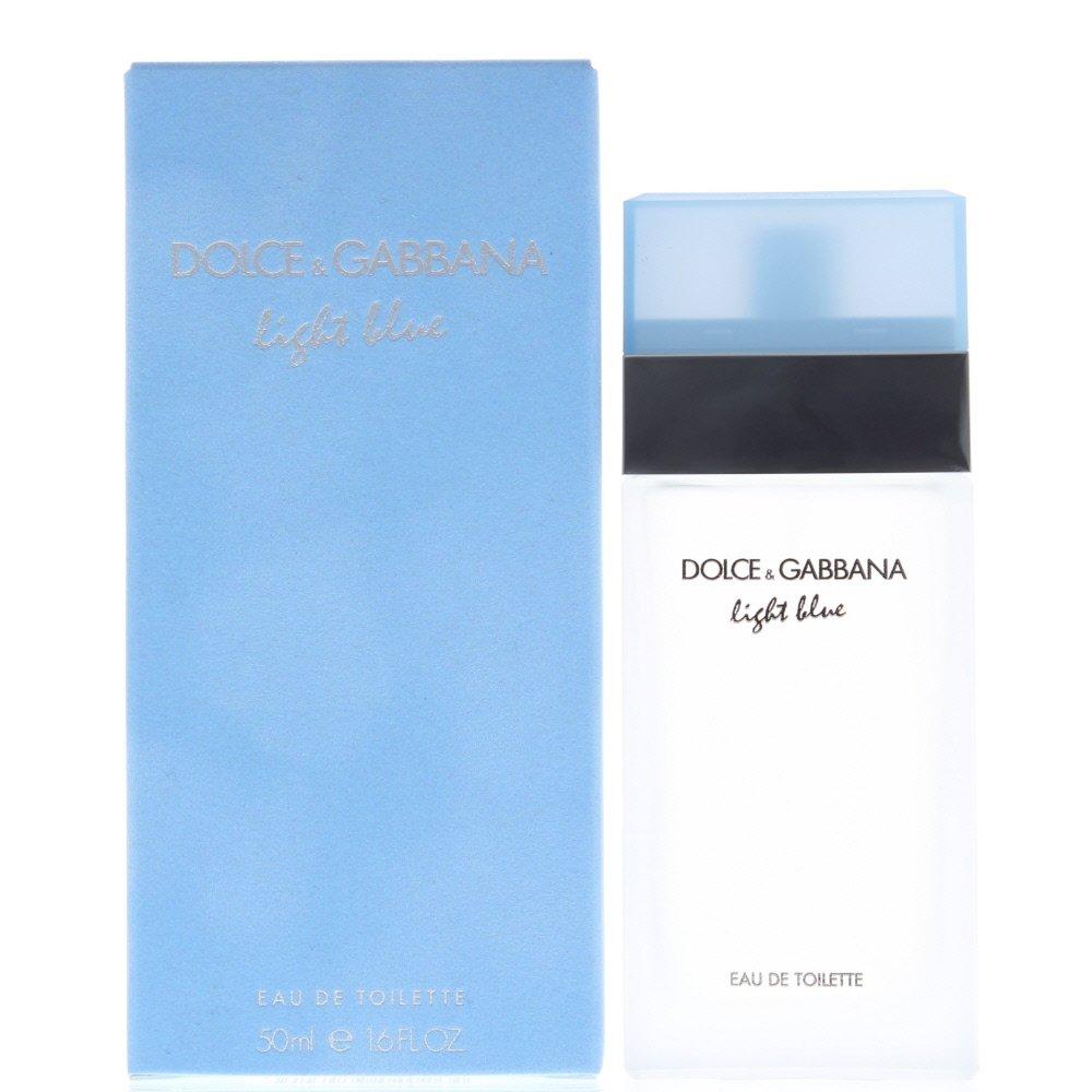 D&g Light Blue Eau de Toilette 50ml Spray
