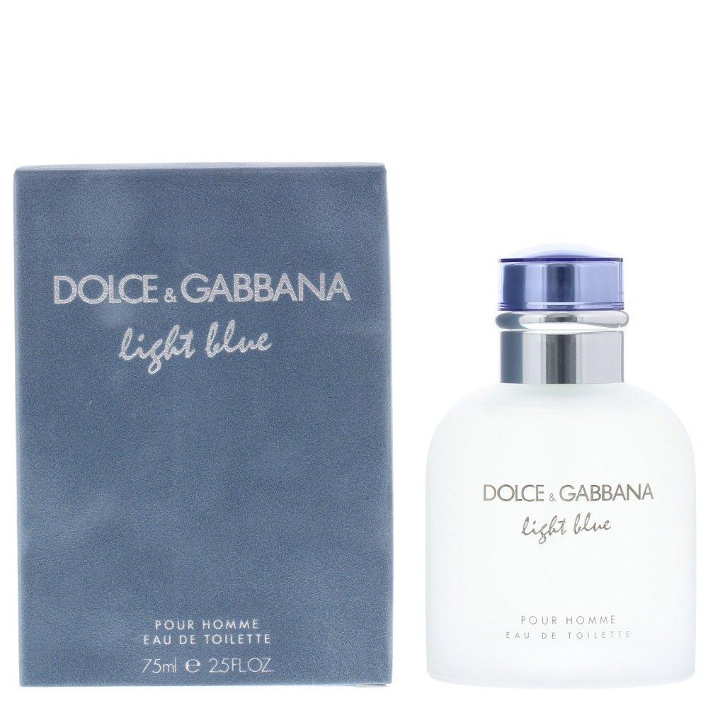 D&g Light Blue Men Eau de Toilette 75ml Spray