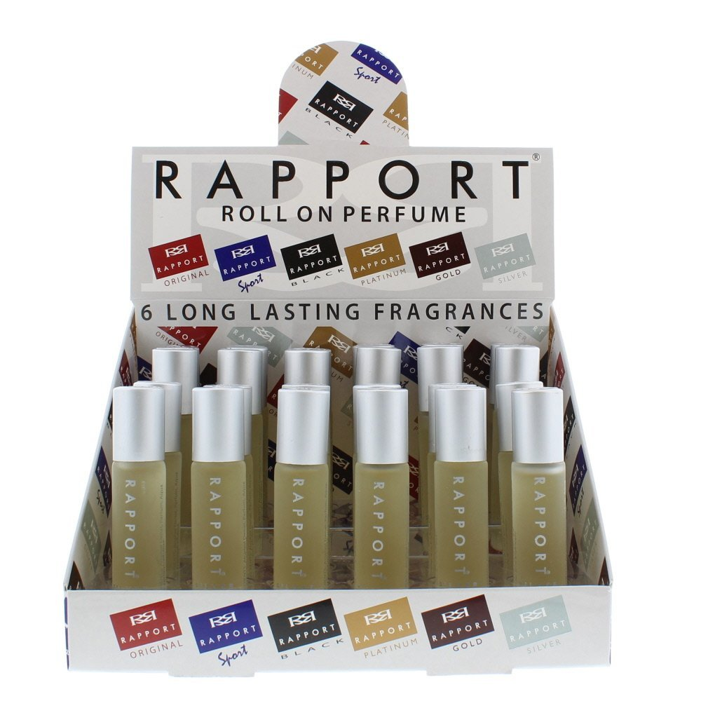 Rapport Silver Roll On 10ml X 24 1 Tray =1 Unit