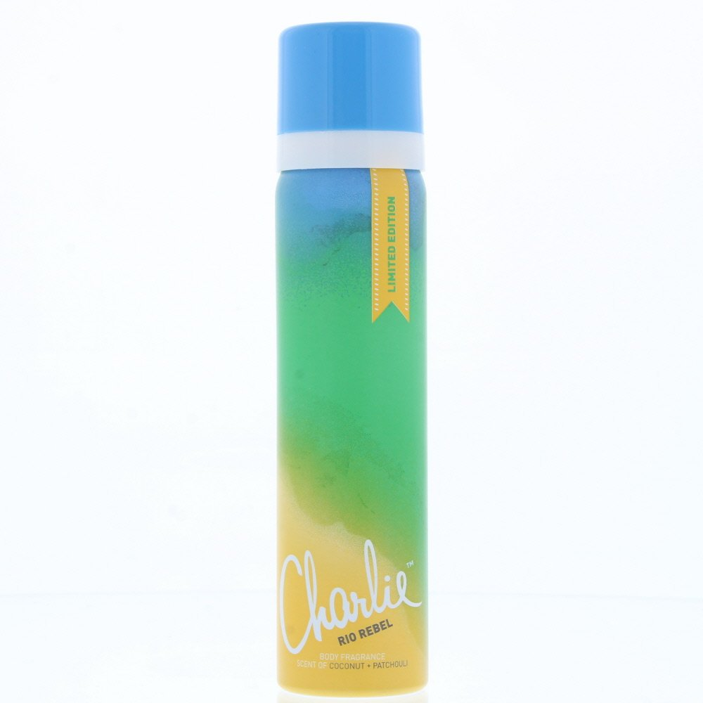 Charlie Body Spray Rio Rebel 75ml