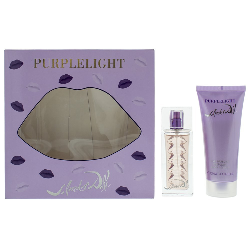 Salvador Dali Purple Light Eau de Toilette 30ml - Body Lotion 100ml