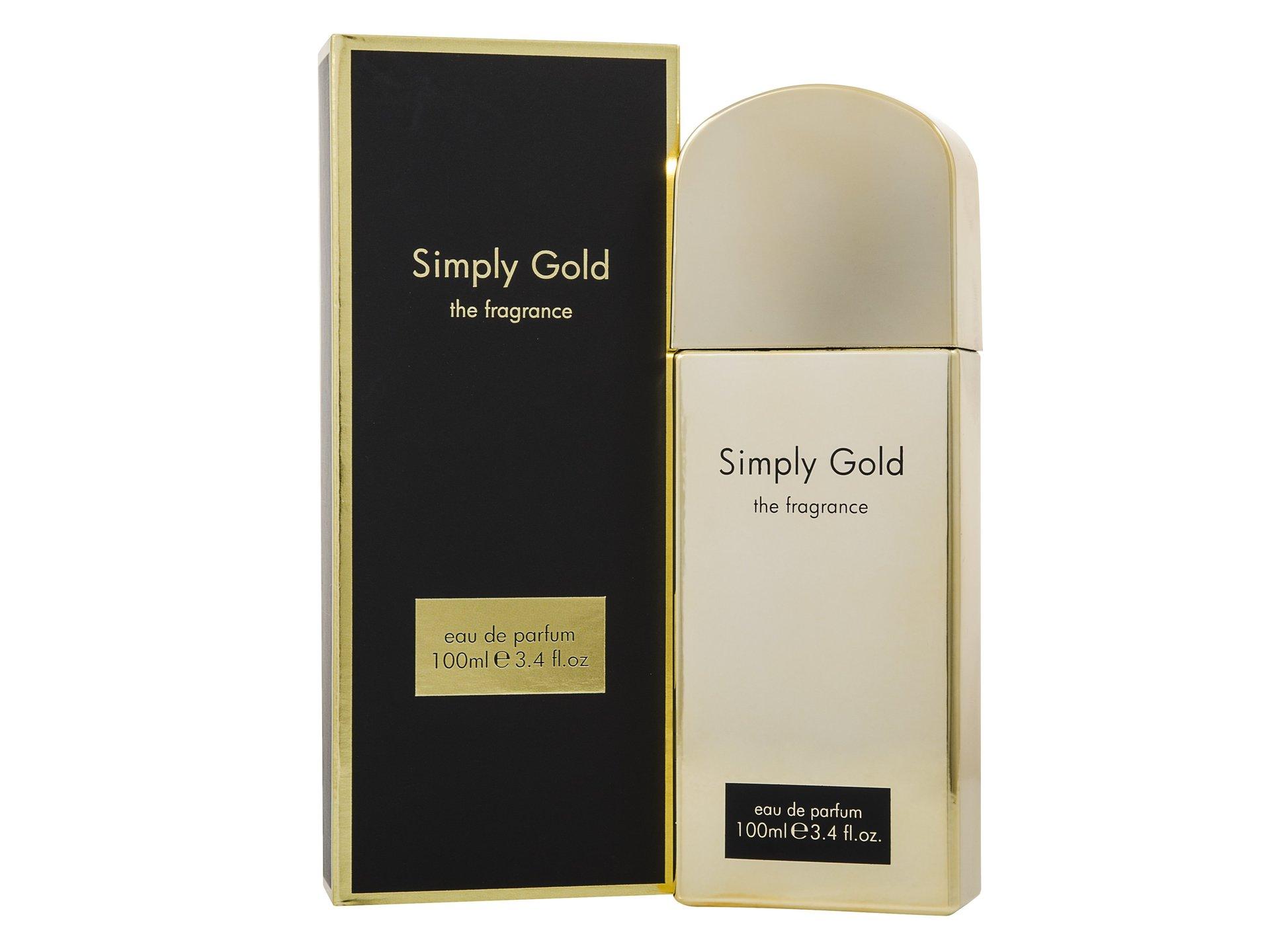 Simply Gold 100ml Eau De Parfum