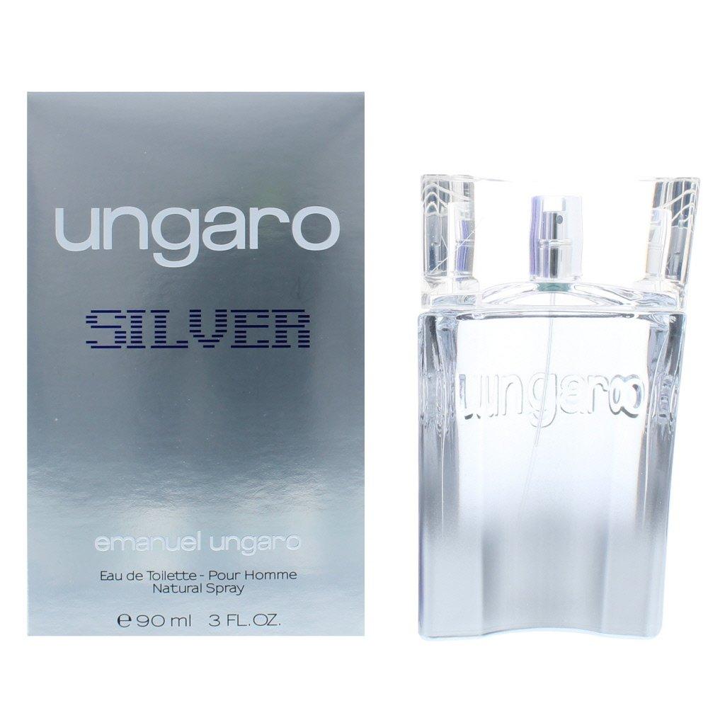 Ungaro Silver Men Eau de Toilette 90ml Spray