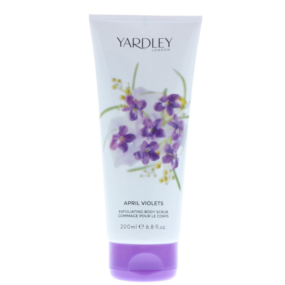 April Violets Body Scrub 200ml