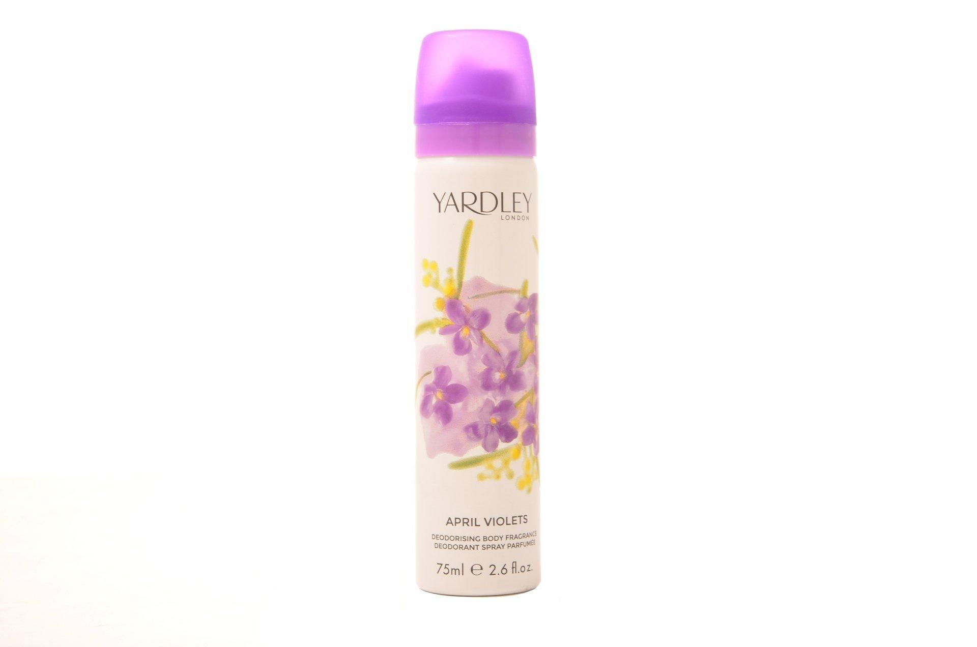 April Violets Body Spray 75ml