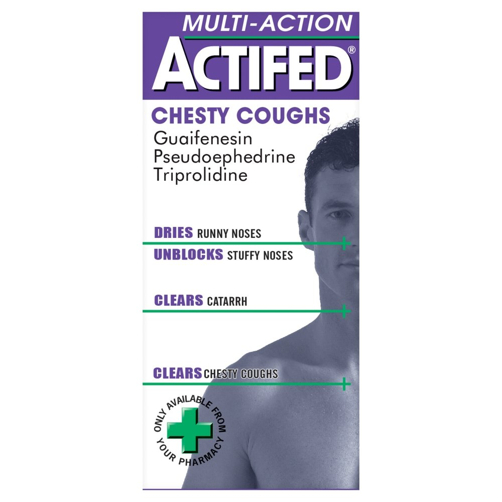 Actifed Chesty Coughs x 100ml