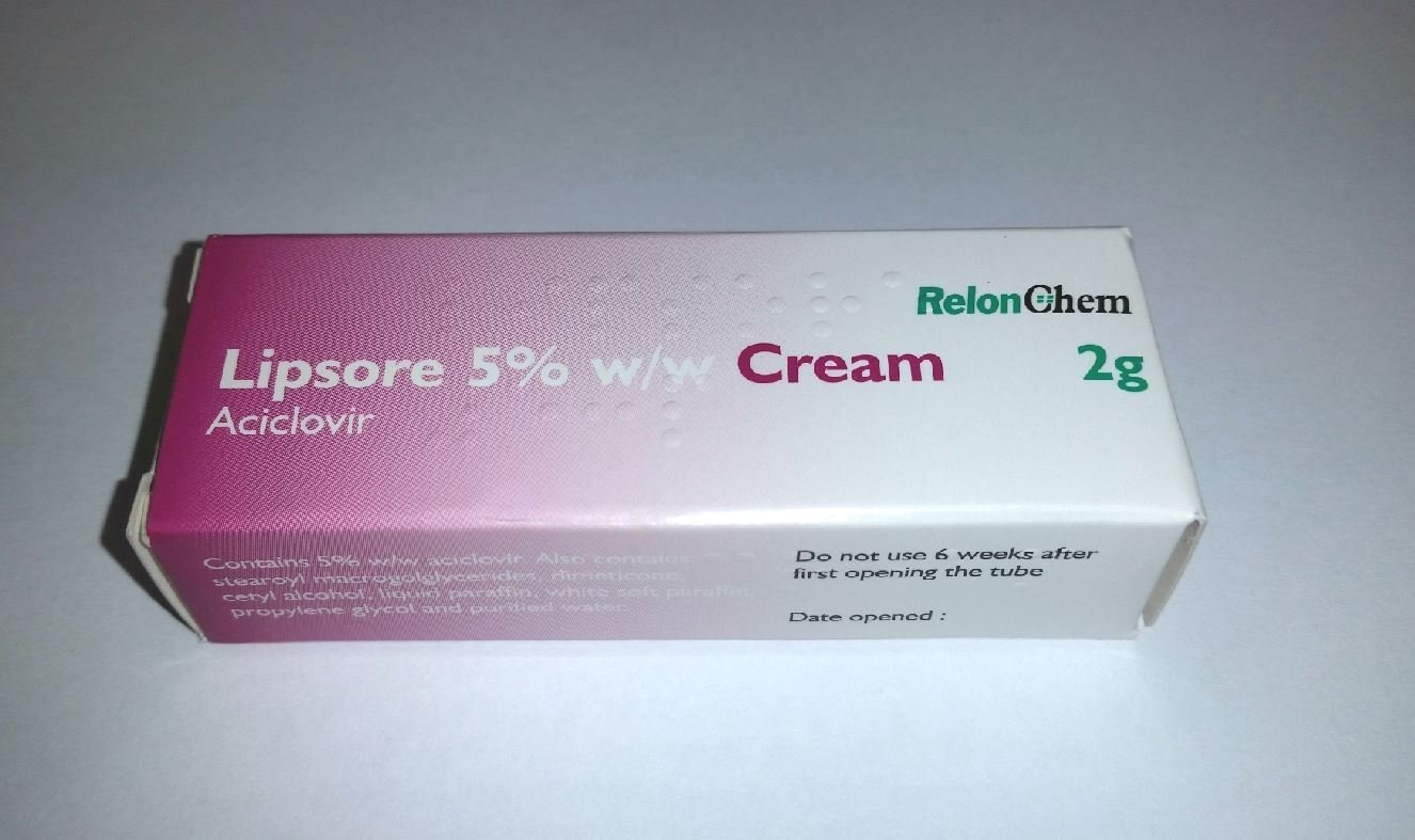 Aciclovir Cream x 2g