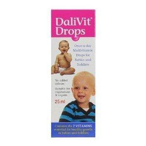 Dalivit multivitamin drops x 50ml