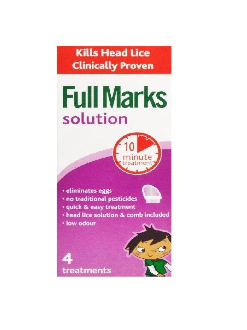 Full Marks Solution x 200ml + Removal Comb