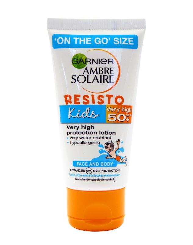 Ambre Solaire Resisto Kids lotion SPF50+