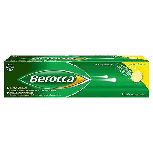 Berocca effervescent tropical - 15 tablets