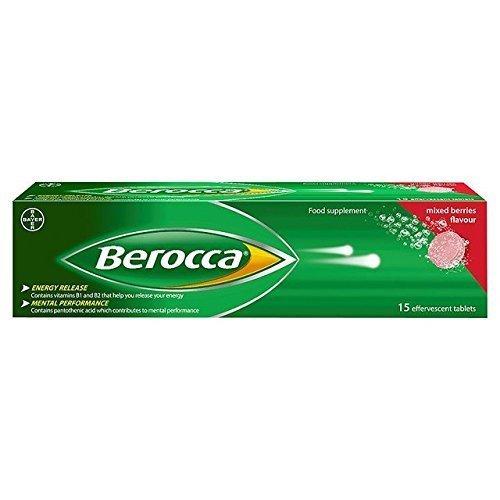 Berocca effervescent mixed berries - 15 tablets