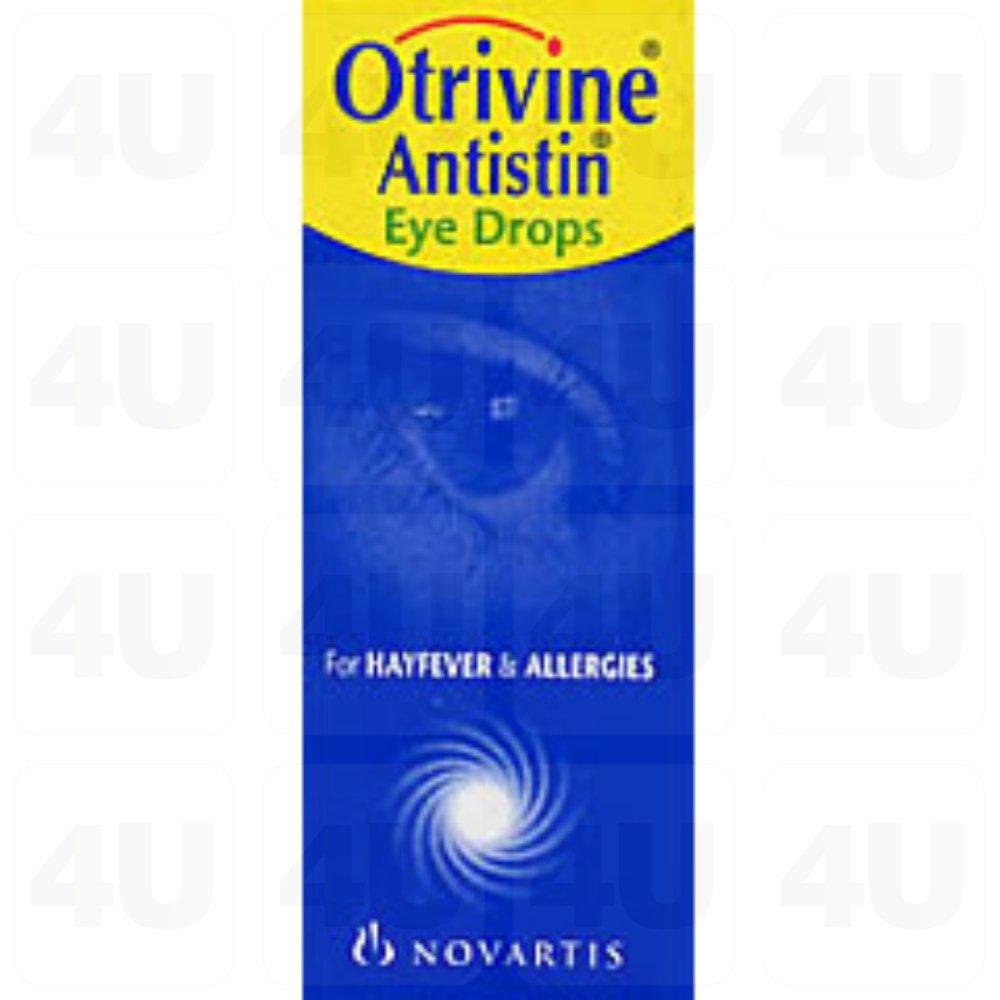 Otrivine Antistin Eye Drops 10mls
