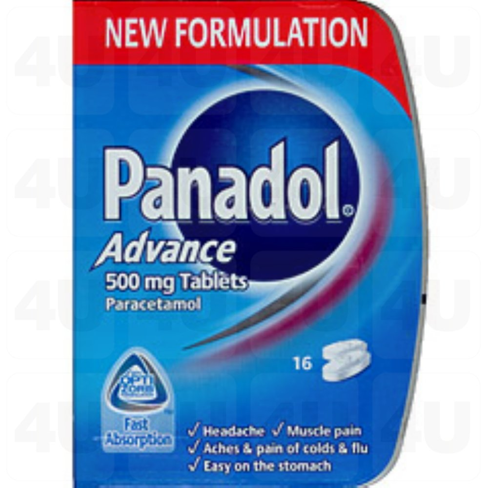 Panadol Advance 16 Tablets