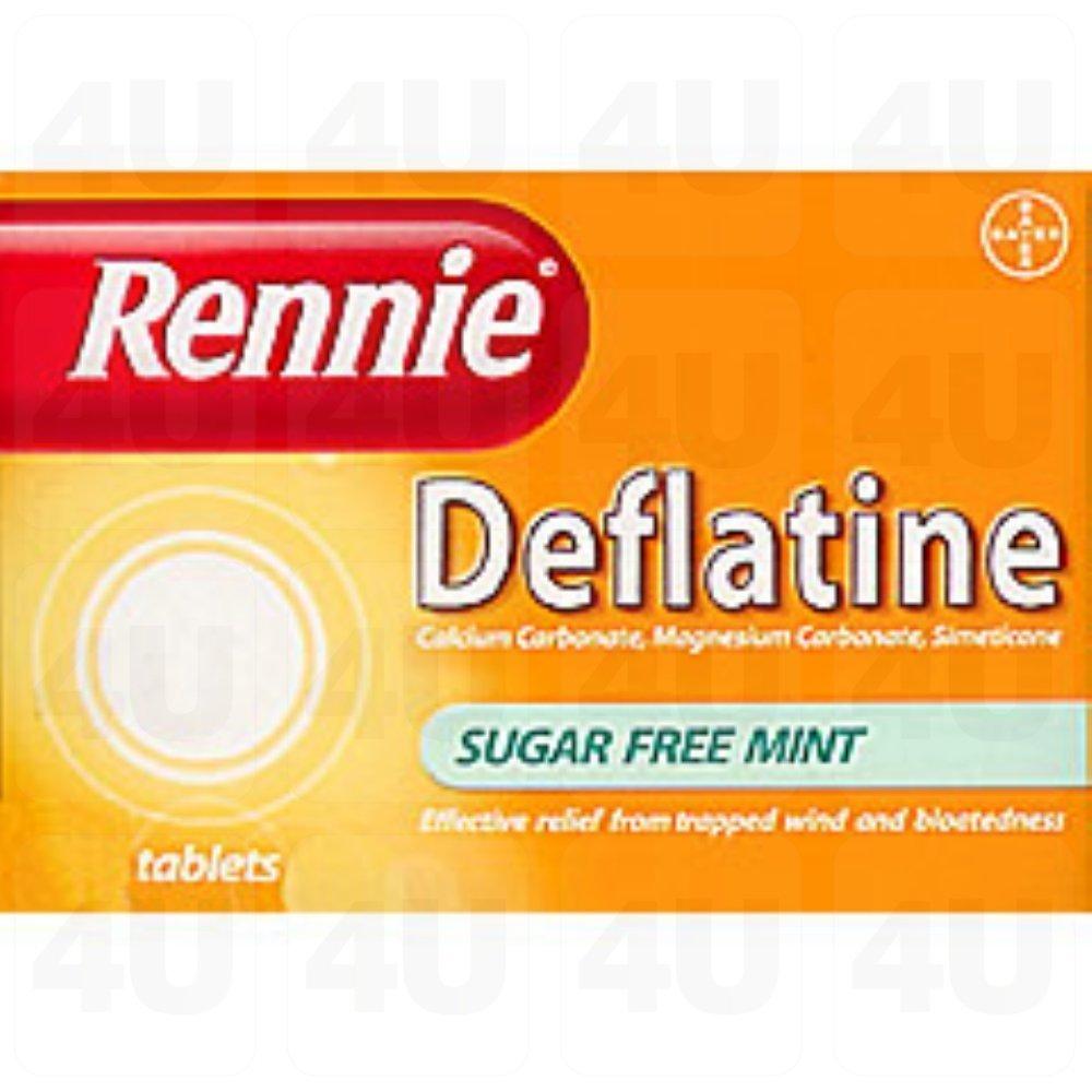 Rennie Deflatine 36 Tablets