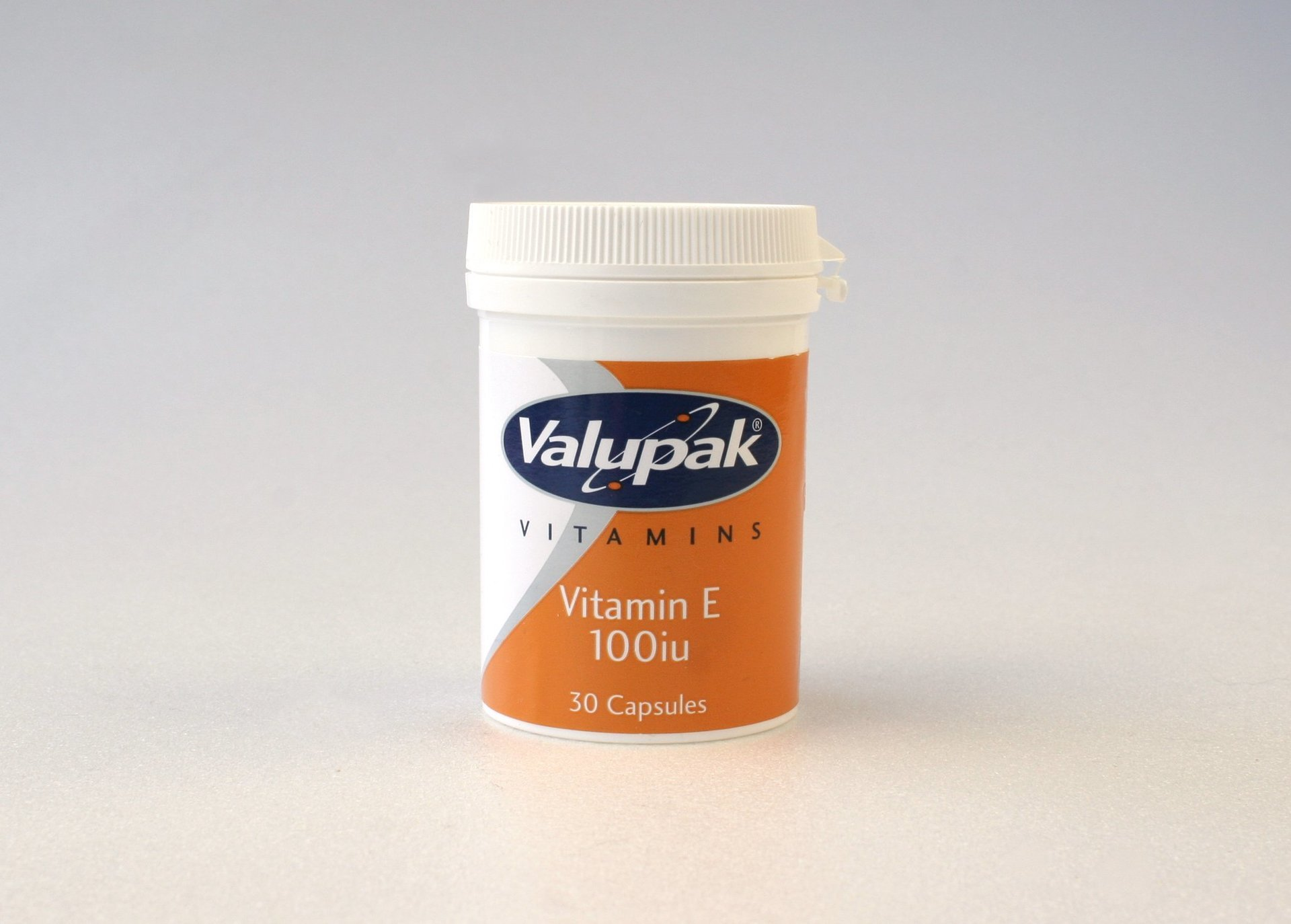 Valupak Vitamin E 100iU 30 Capsules