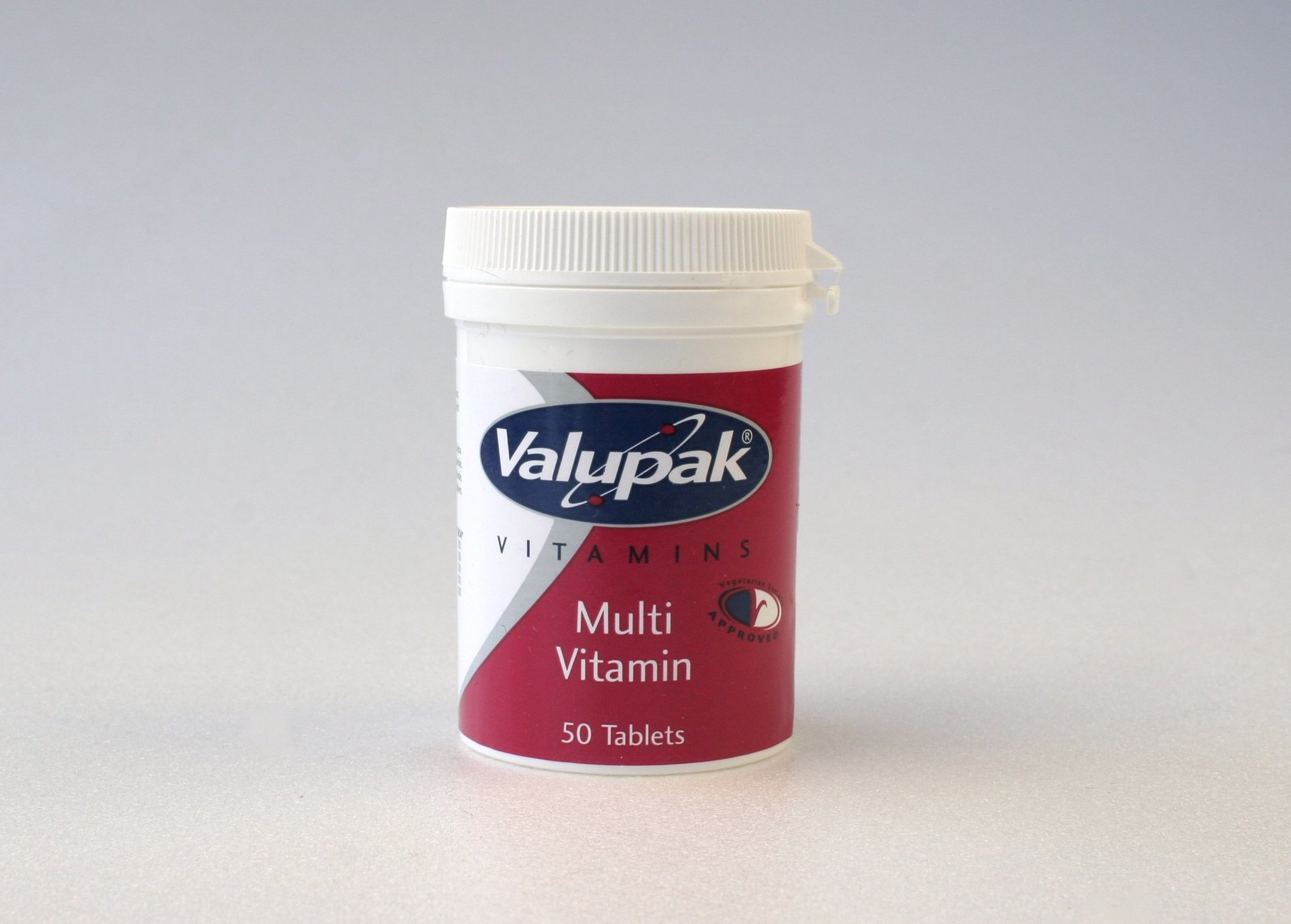 Valupak Multivitamin One-a-day Tablets
