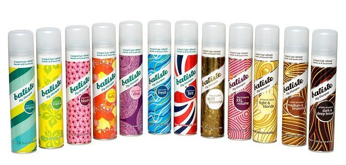 Batiste Tropical On The Go Dry Shampoo 50ml