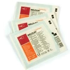 MELOLIN 10 x 10 low-adherent absorbent dressing x 100