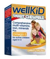Wellkid Smart Chewable Tabs 30