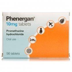 Phenergan 10mg Tablets X 56