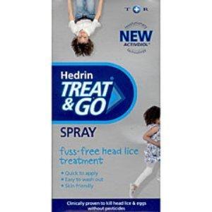 Hedrin 4% lotion spray x 120ml