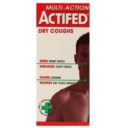 Actifed dry cough x 100ml