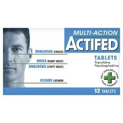 Actifed multi action x 12