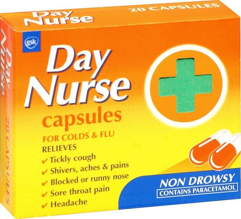 Day Nurse capsules x 20