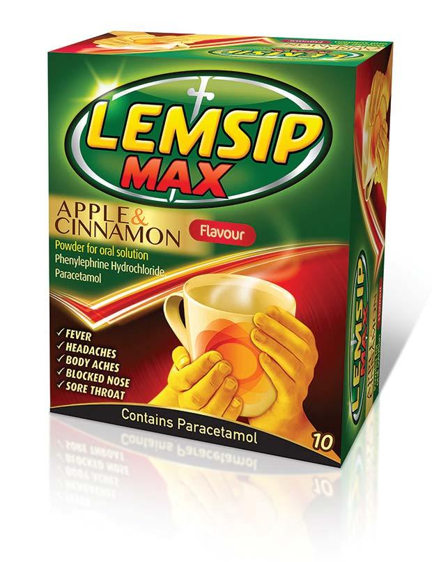 Lemsip Max Fusions HD Sachets Honey & Ginger