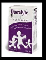 Dioralyte Relief Blackcurrant x 6 Sachets