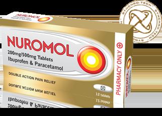 Nuromol tablets x12