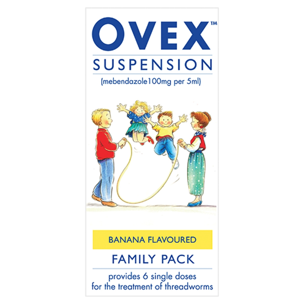 Ovex Suspension (100mg/5ml) 30ml