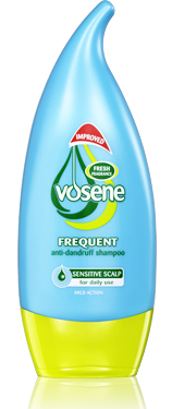 Vosene anti-dandruff shampoo frequent x 250ml