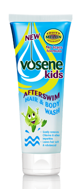 Vosene kids hair & body wash afterswim x 200ml