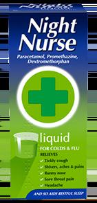 Night Nurse Cold Remedy x 160ml