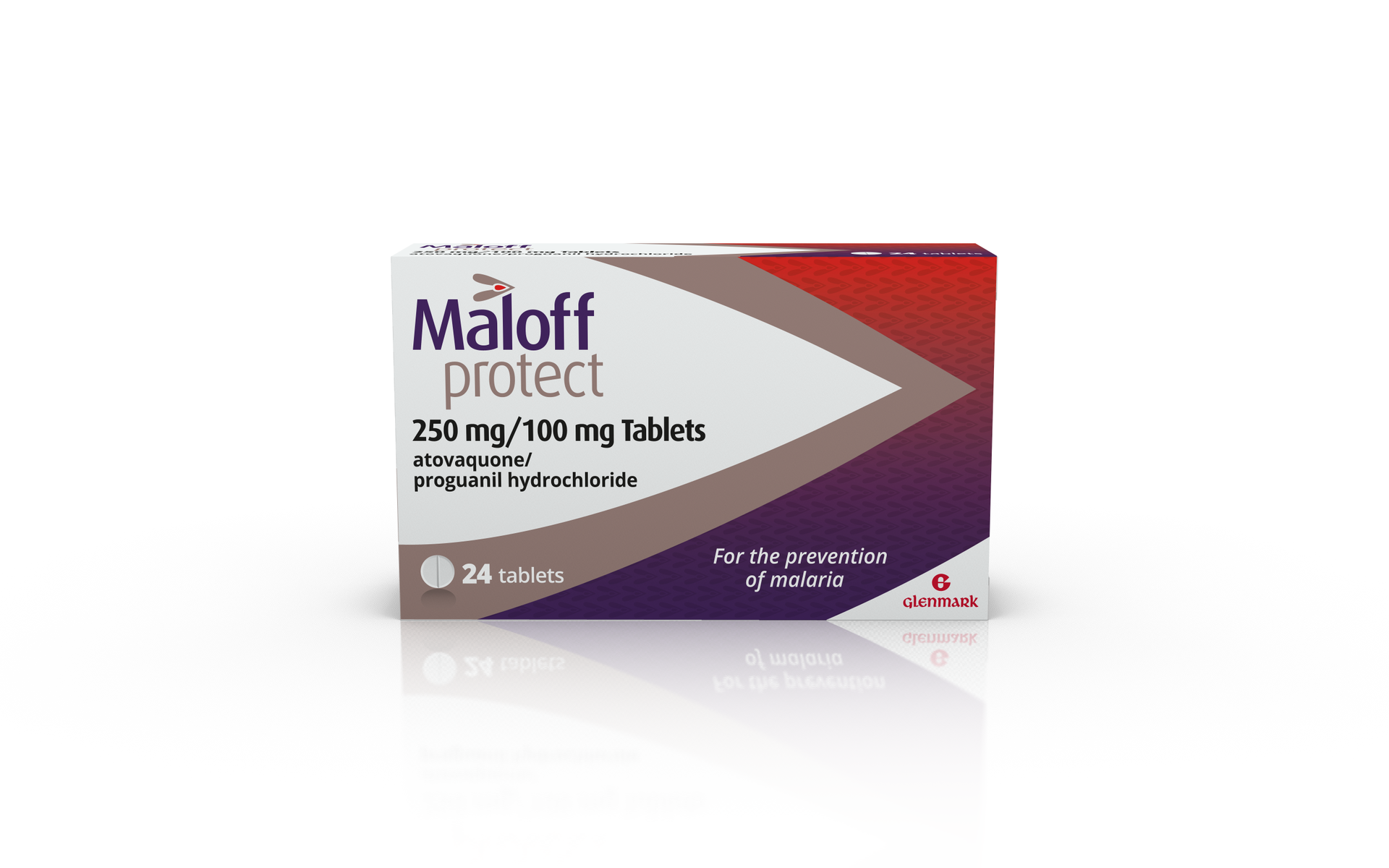 Maloff Protect Malaria - 24 Tablets 'Brand New for Pharmacies'