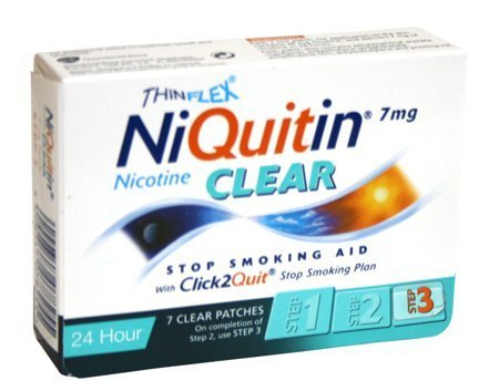 Niquitin Cq Clear Patch 7mg (7 Patches)