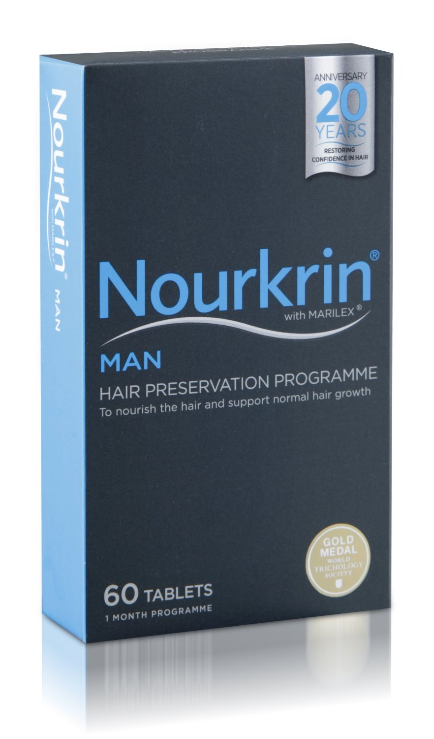 Nourkrin Man For Hair Growth - 1 Month Supply