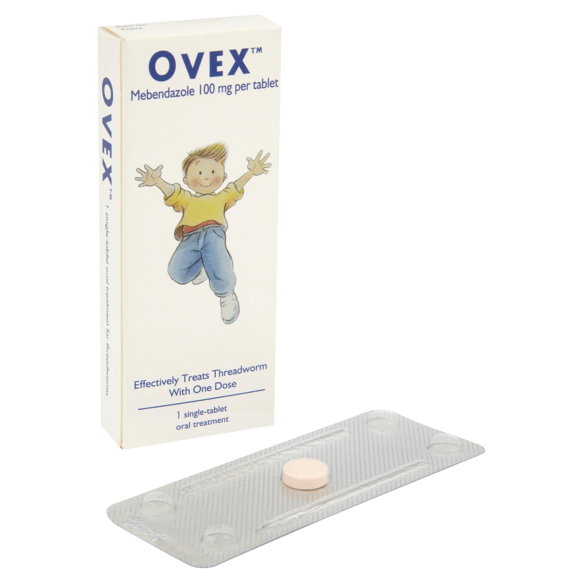 Ovex Threadworm Single Treatment Tablet