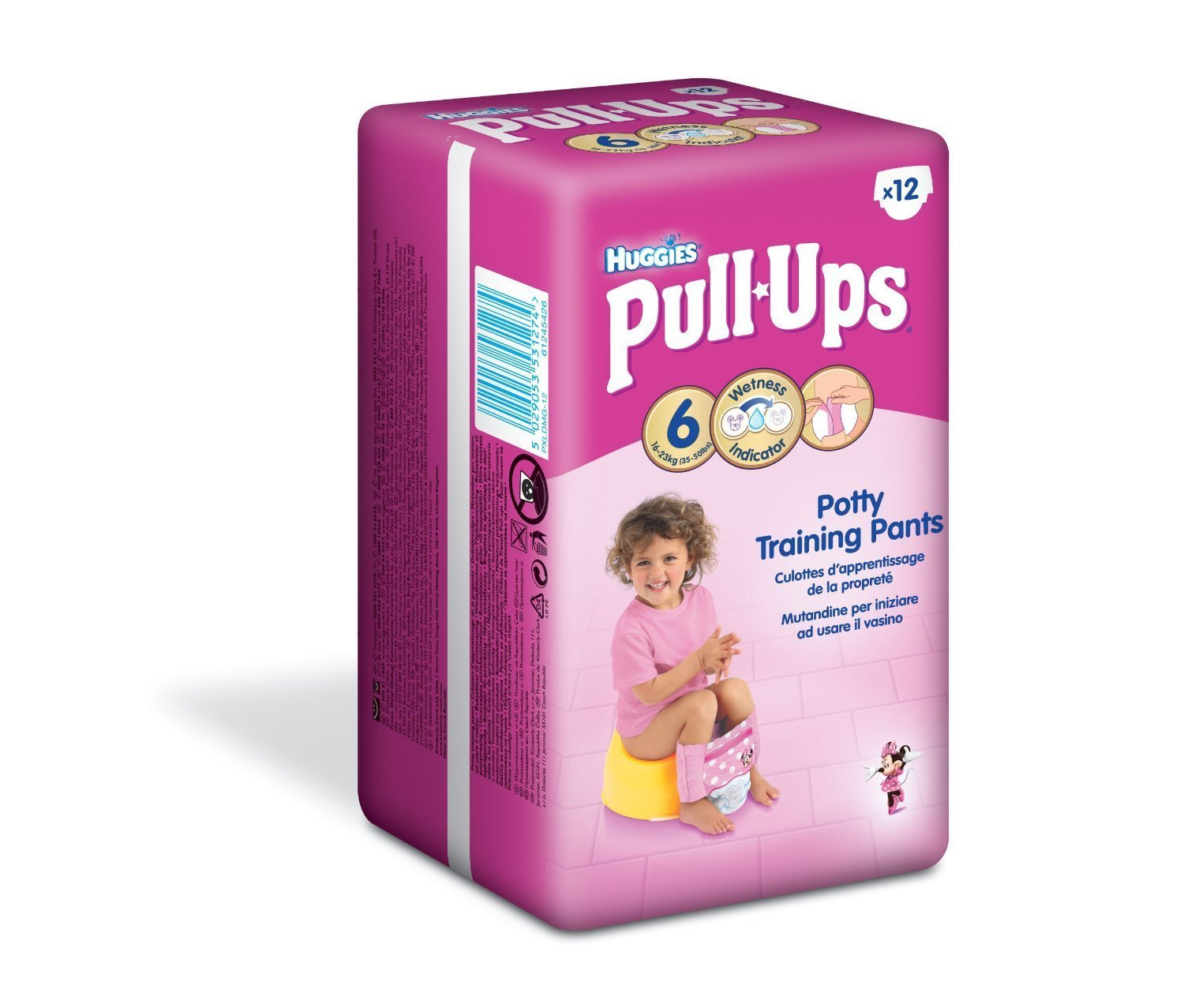 Huggies Day Time Pull Ups Girl Large