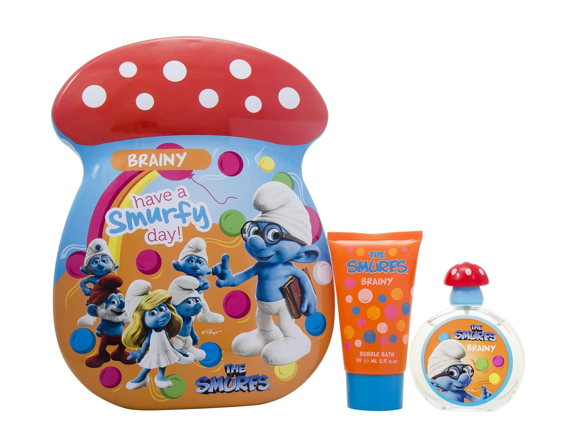 Smurfs Brainy 2 Piece Gift Set 50ml Edt & 75ml S/gel
