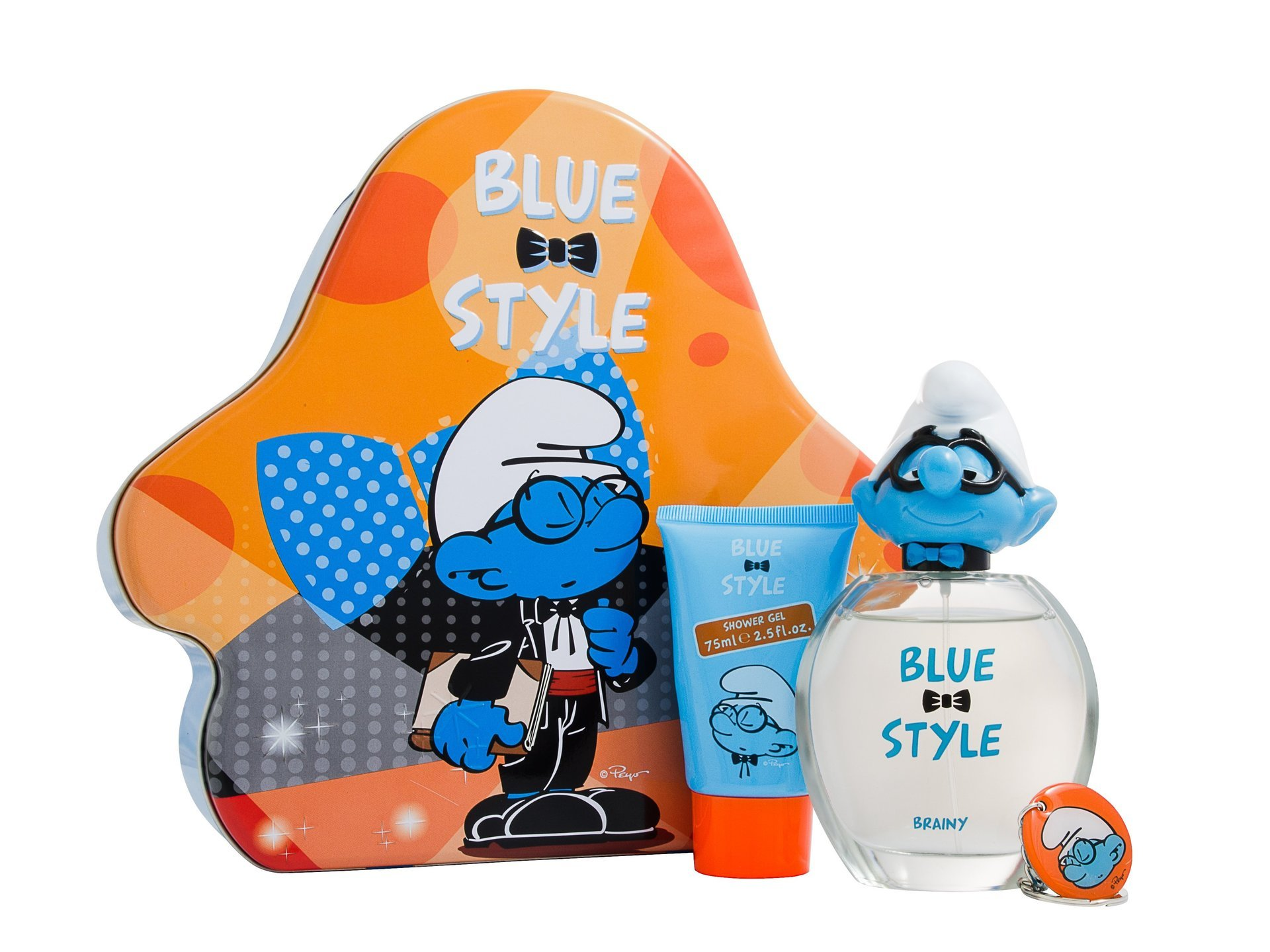 Smurfs Brainy 3 Piece Gift Set Tin